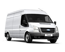 ford transit long wheel base vans for hire beckenham